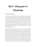 Giáo trình Nghiên cứu thị trường Công nghệ thông tin - Bài 1