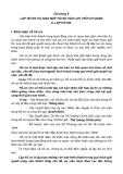 Giáo trình nghiệp vụ văn thư - LẬP HỒ SƠ VÀ GIAO NỘP HỒ SƠ VÀO LƯU TRỮ CƠ QUAN