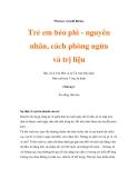 Giáo án y khoa về trẻ em béo phì - Chương 1