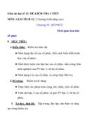 Giáo án đại số 12: ĐỀ KIỂM TRA 1 TIẾT MÔN: GIẢI TÍCH 12 ( Chương trình nâng cao)