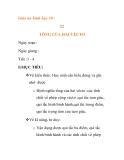 Giáo án hình học 10 :TỔNG CỦA HAI VÉCTƠ