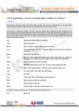 Tiếng anh giao tiếp -  Bài 10: Ngoài Đường - chào hỏi, nói chuyện phiếm với khách; xin trả tiền xe