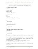 GIÁO TRÌNH LẬP TRÌNH C CHO HỌ VI ĐIỀU KHIỂN 8051 - CHƯƠNG I