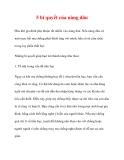 5 bí quyết của nàng dâu
