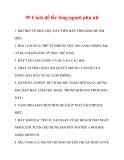 99 Cách để lấy lòng người phụ nữ