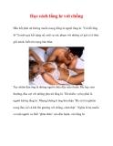 Học cách lẳng lơ với chồng