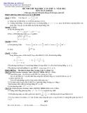 ôn thi môn toán năm 2011_ số 10
