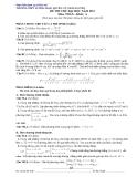 ôn thi môn toán năm 2011_ số 8