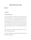 BỆNH TIM MẠCH VÀNH - Phần IV - B