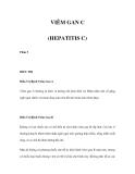 VIÊM GAN C (HEPATITIS C) - Phần 5