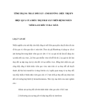 TÌNH TRẠNG THAY ÐỔI SẮT -ẢNH HƯỞNG ÐIỀU TRỊ IFN HIỆU QUẢ CỦA ÐIỀU TRỊ THẢI SẮT TRÊN BỆNH NHÂN VIÊM GAN SIÊU VI B-C MÃN