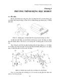 Kỹ thuật robot - Chương 4: Phương trình động học robot