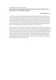 Chế độ ăn uống cho người viêm gan mạn tính
