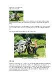 Những lưu ý khi rửa xe máy