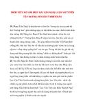 CÁCH VIẾT MỞ BÀI MỘT BÀI VĂN NGHỊ LUẬN VÀ TUYỂN TẬP NHỮNG MỞ BÀI THAM KHẢO phần 3