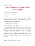 """Chuyên đề văn học """"Sóng"""" Xuân Quỳnh & """"Nhật kí trong tù"""" của Hồ Chí Minh_2"""