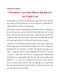 """Chuyên đề văn học """"Thơ duyên"""" của Xuân Diệu & Hai đứa trẻ"""" của Thạch Lam_2"""