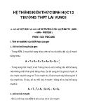 HỆ THỐNG KIẾN THỨC SINH HỌC 12 TRƯỜNG THPT LAI VUNG I_1