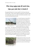 Việt Nam môi trường và cuộc sống - Phần 12