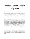 Việt Nam môi trường và cuộc sống - Phần 16