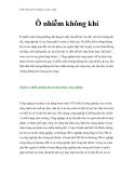 Việt Nam môi trường và cuộc sống - Phần 20