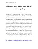 Việt Nam môi trường và cuộc sống - Phần 24