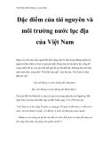 Việt Nam môi trường và cuộc sống - Phần 2