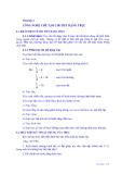 Giáo trình công nghệ chế tạo phụ tùng - Chương 4  CÔNG NGHỆ CHẾ TẠO CHI TIẾT DẠNG TRỤC