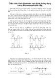 Giáo trình hình thành các loại diode thông dụng trong điện dung chuyển tiếp p1