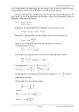 Giáo trình hình thành phân bố điện từ và khảo sát chuyển động của hạt từ bằng năng lượng p8