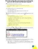 Giáo trình hướng dẫn các trợ giúp về cú pháp trong quá trình viết mã lệnh khai báo biến trong VB p1