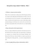 Hướng dẫn sử dụng AdminCP vBulletin – Phần 1