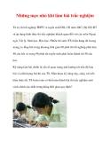 Những mẹo nhỏ khi làm bài trắc nghiệm