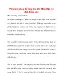 Phương pháp để làm bài thi Môn Địa Lý đạt điểm cao