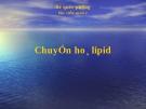 Đại cương Chuyển hóa Lipid