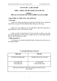 Chuyên đề quản trị học và quản trị nguồn nhân lực - Chương 1
