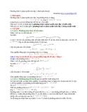 Phương trình vi phân tuyến tính cấp 1, Bernoulli, Ricatti