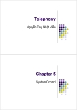 Telephony - Chapter 5: System Control
