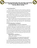 Quá trình hình thành giáo trình giao tiếp truyền thông bất đồng bộ dữ liệu trên các thông số của trao đổi tin nối tiếp p1