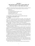 Giáo trình Nhiệt lạnh - Chương 2: Môi trường không khí và chọn thông số tính toán cho các hệ thống điều hòa
