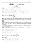 Tổng hợp 60 đề thi đại học môn toán