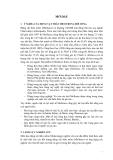 GIÁO TRÌNH KỸ THUẬT NUÔI NHUYỄN THỂ - CHƯƠNG I : MỞ ĐẦU