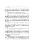 BÀI GIẢNG CÂY ĐẶC SẢN VÙNG - Bài 2 ĐẶC ĐIỂM THỰC VẬT HỌC VÀ ĐẶC TÍNH SINH HỌC CỦA CÂY TIÊU