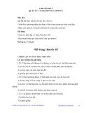 KỸ THUẬT CHĂN NUÔI LỢN SINH SẢN HƯỞNG LẠC - CHUYÊN ĐỀ 7 QUẢN LÝ VÀ HẠCH TOÁN KINH TẾ