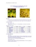 Giáo trình thực tập công nghệ chế biến rau quả - Bài 4
