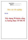 Đồ án tốt nghiệp: Xây dựng Website công ty lương thực TP HCM