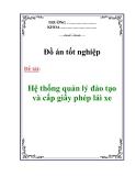 Đồ án: Tìm hiểu bài toán nhận dạng kí tự viết tay và phát triển ứng dụng