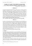 """Báo cáo khoa học: """"  NGHIÊN CỨU THIẾT LẬP HỆ THỐNG NUÔI KẾT HỢP LUÂN TRÙNG (Brachionus plicatilis) VỚI BỂ NƯỚC XANH"""""""