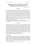 """Báo cáo khoa học: """" ẢNH HƯỞNG CỦA BỔ SUNG VI TAMI N C VÀO THỨC ĂN LÊN SINH TRƯỞNG VÀ TỶ LỆ SỐNG CỦA ẤU TRÙNG TÔM CÀNG XANH (Macrobrachium rosenbergii)"""""""