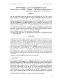 """Báo cáo khoa học: """" ĐÁNH GIÁ KHẢ NĂNG SỬ DỤNG KHOAI NGỌT (Dioscorea Alata) LÀM THỨC ĂN CHO CÁ RÔ PHI (Oreochromis niloticus)"""""""